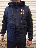 Куртка мужская,Размеры: 48-50-52-54-56, 5шт в ростовке расцветки, фото 1