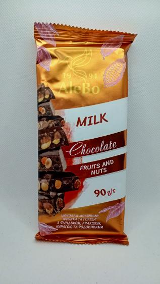 Шоколад с Фруктами и Орехами