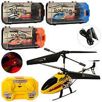 Вертолетна радиоуправлении SJ200, аккум, 20см, гироскоп, свет, 3,5 канала