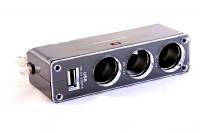 Тройник для прикуривателя с USB-портом
