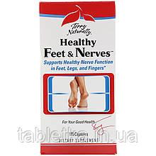 Terry Naturally, Terry Naturally, Healthy Feet & Nerves, здоровые ноги и нервы, 120 капсул