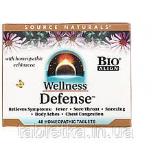 Source Naturals, Wellness Defense, 48 натуральных таблеток