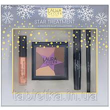 Laura Geller, Star Treatment, коллекция из 4средств для макияжа глаз и губ