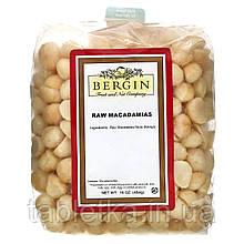 Bergin Fruit and Nut Company, Сырая макадамия, 16 унций (454 г)