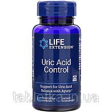 Life Extension, Контроль сечової кислоти, 60 капсул вегетаріанських