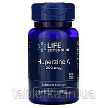 Life Extension, Huperzine A, 200 mcg, 60 Vegetarian Capsules