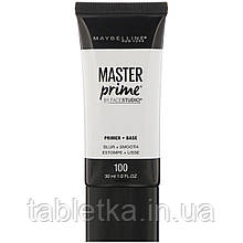 Maybelline, Основа под праймер FaceStudio, Master Prime, оттенок Blur + Smooth, 30мл