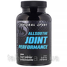 Natural Sport, AllSoothe, работа суставов, 120растительных капсул