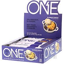 One Brands, ONE Bar, Blueberry Cobbler, 12 Bars, 2.12 oz (60 g) Each