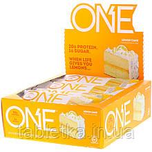 One Brands, ONE Bar, Lemon Cake, 12 Bars, 2.12 oz (60 g) Each
