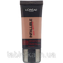 L'Oreal, Тональная основа Infallible Pro-Matte, оттенок Cocoa112, 30мл