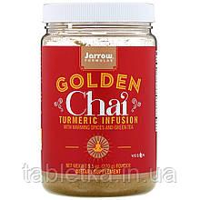 Jarrow Formulas, Golden Chai, порошок травяного чая с куркумой, 270 г (9,5 унций)