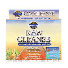 Garden of Life, RAWCleanse, высший стандарт очищения и детоксикации, программа из 3частей, трехкомпонентный