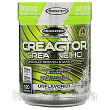 Muscletech, Performance Series, CREACTOR, Creatine HCI, Unflavored, 8.29 oz (235 g)