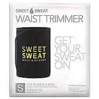 Sports Research, Sweet Sweat, пояс для схуднення, маленький, чорний і жовтий, 1 шт.