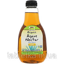 Now Foods, Real Food, нектар органической голубой агавы, легкий, 660 г (23,28 унции)
