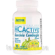 Jarrow Formulas, HCActive, экстракт гарцинии камбоджийской, 90 овощных капсул