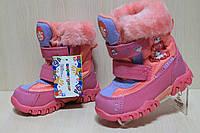 Сапожки на девочку, детская зимняя обувь, теплые сапожки тм SG р.26
