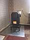 Отопительная конвекционная печь 14 кВт Теплодар ТОП 140 с варочной поверхностью длительного горения, фото 8