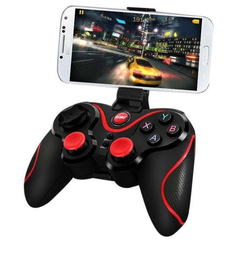 Блютуз джойстик Wireless GamePad X3 Беспроводной джойстик игровой Bluetooth геймпад для телефона и iPhone