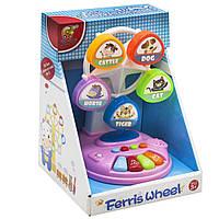 """Музыкальный вентилятор """"Ferris Wheel"""" Chuangfa Toys NO-6615, розовый"""