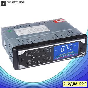 Автомагнитола UKC 3884 ISO 1DIN - MP3 Player, FM, USB, SD, AUX сенсорная автомобильная магнитола (s409)