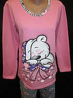 Байковые пижамы для девочек., фото 1