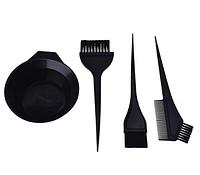 Набор для окрашивания волос (миска + 3 кисти)