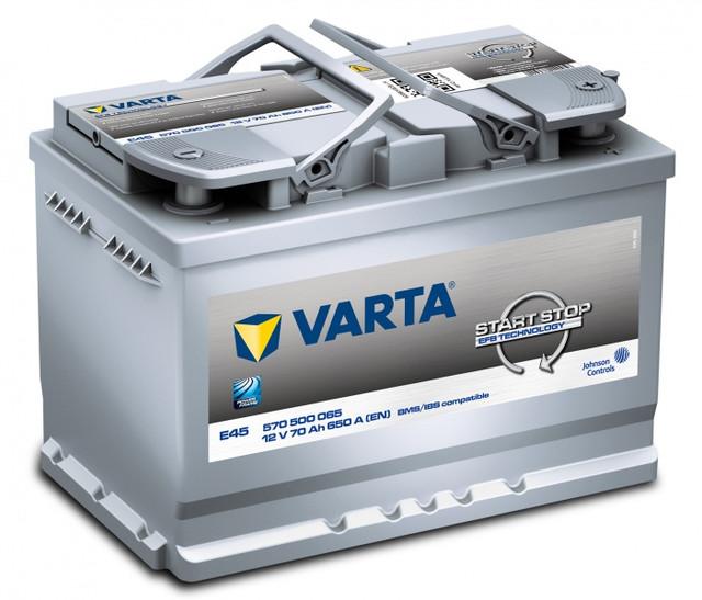 VARTA START STOP