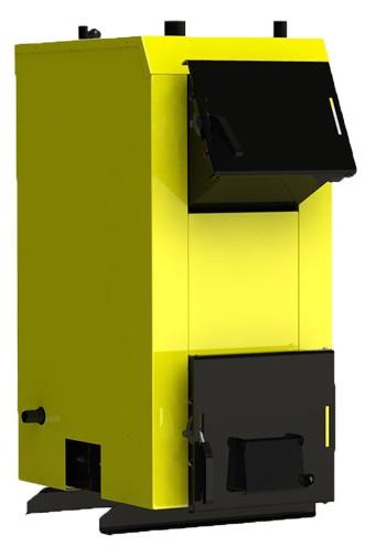 Твердотопливный котел ручной загрузки на дровах и угле Kronas EKO 20 кВт из стали толщиной5 мм