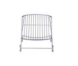 Шезлонг лежак дизайнерский Tidal металлический, фото 8