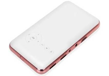 Проектор портативный Smart M6S 5000mA   Android Wi-Fi Bluetooth   2000 люмен, фото 2