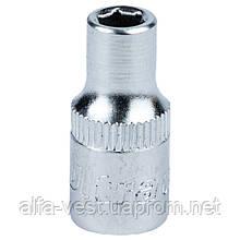 """Насадка шестигранная короткая 1/4"""" 5мм CrV ULTRA (6060052)"""