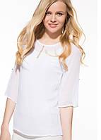 Біла жіноча блузка MA&GI, фото 1