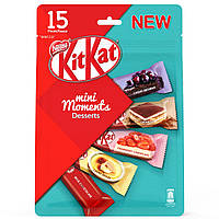 Набор шоколадок Kit Kat mini Moments Desserts