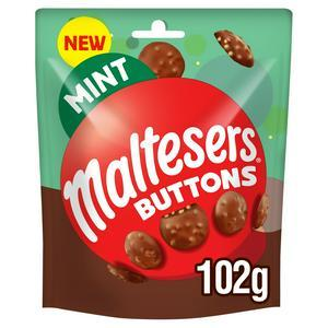 Конфеты Maltesers Buttons Mint 102 g