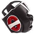 Шлем боксерский с полной защитой PU ZELART (р-р M-XL), фото 3
