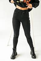 Теплые штаны с лампасами на байке FLNN - черный цвет, 25р (есть размеры), фото 1