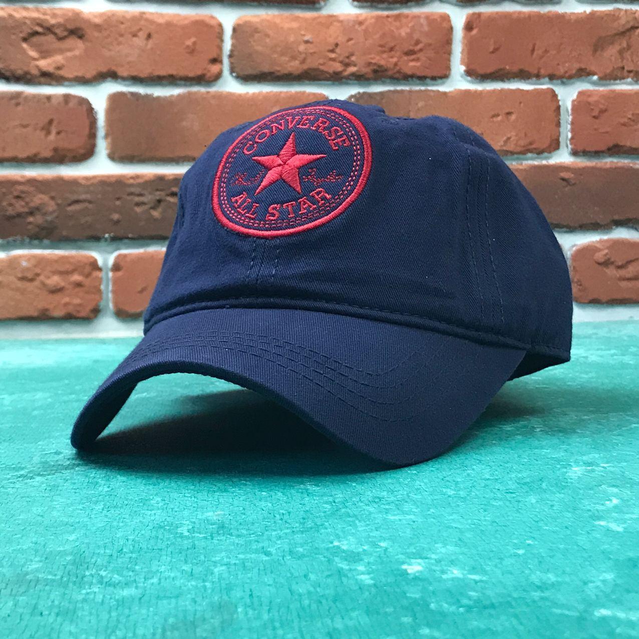 Кепка бейсболка Converse (Cиняя)