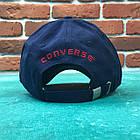 Кепка бейсболка Converse (Cиняя), фото 3