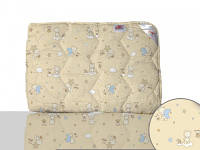 Одеяло шерстяное стеганное р.110х140 детское 300 плотность