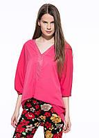 Женская розовая блуза MA&GI