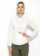 Белая женская блузка MA&GI, фото 1