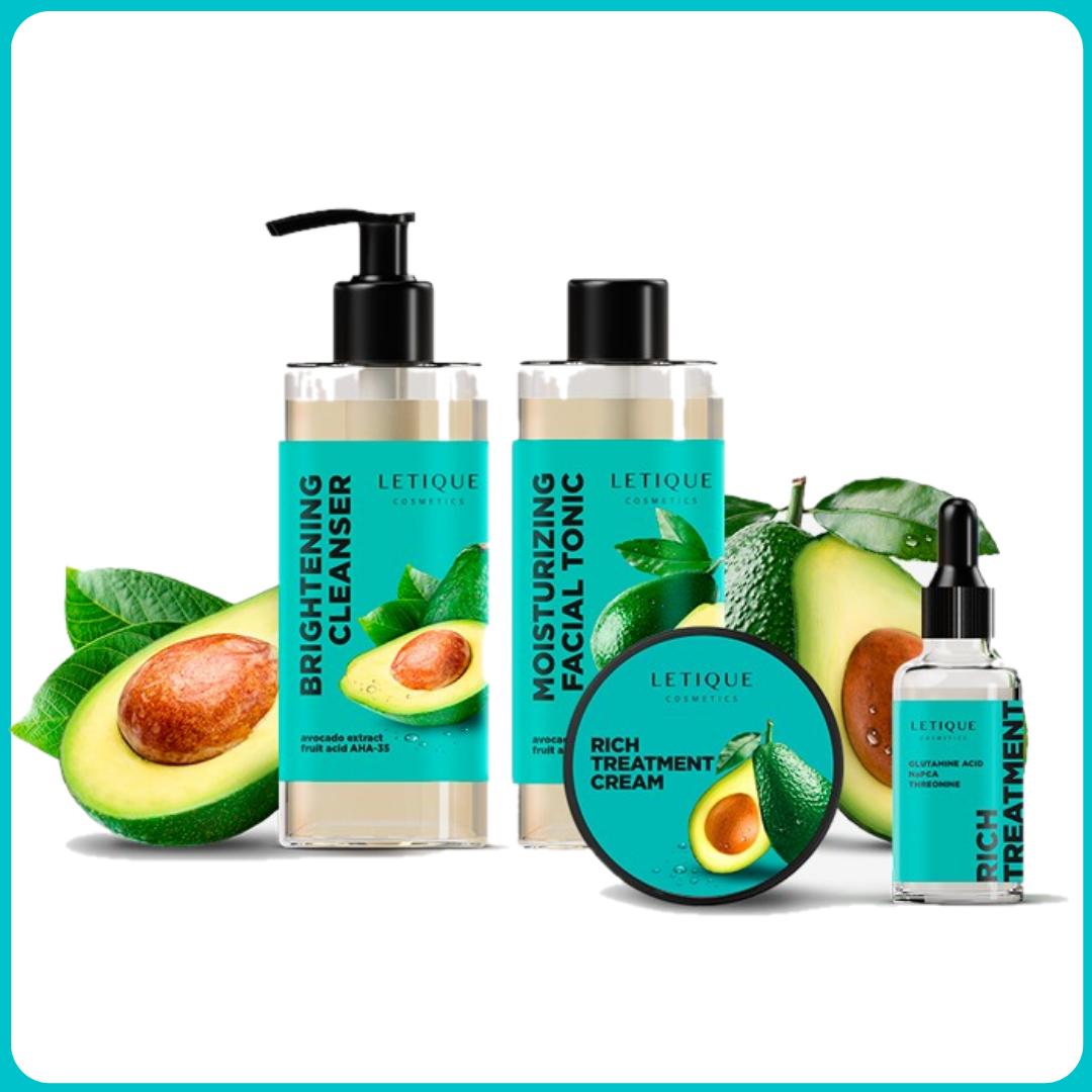 Комплекс для лица с авокадо Letique