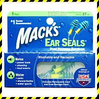 Беруши Mack's Ear Seals (защита от шума и воды).