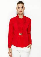 Красная женская блузка MA&GI, фото 1