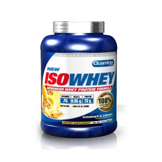 Протеин Quamtrax Iso Whey, 2.2 кг Печенье