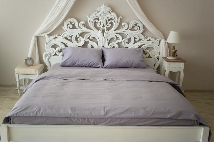 Комплект постельного белья Prestige двуспальный Silver 175х215 см серый SKL29-150468