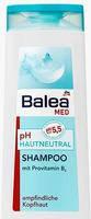 Лечебный шампунь для защиты волос и кожи головы Balea Med pH-hautneutral Shampoo 300 мл.