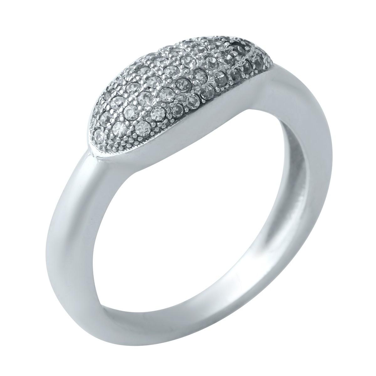 Серебряное кольцо DreamJewelry с фианитами (1923795) 16 размер